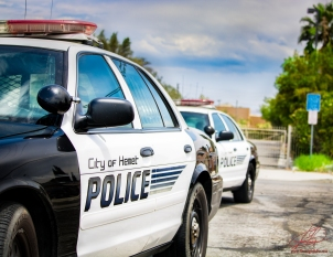 Hemet Police Vehicles